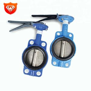 Butterfly Valve In Stainless Steel 304 Handle And Cast Iron Valve Body