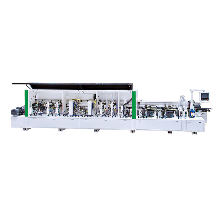 China Electric Lift Timber Edge Banding Machine