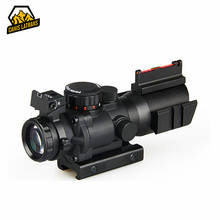 best quality Compact 4x Rifle Prismatic Scope for AR15 Accessories Parts
