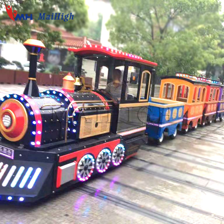 supplier trackless train rides children games mini trackless train electric