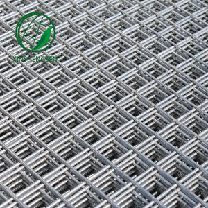 (High) 저 (quality galvanized a252 a393 welded wire mesh
