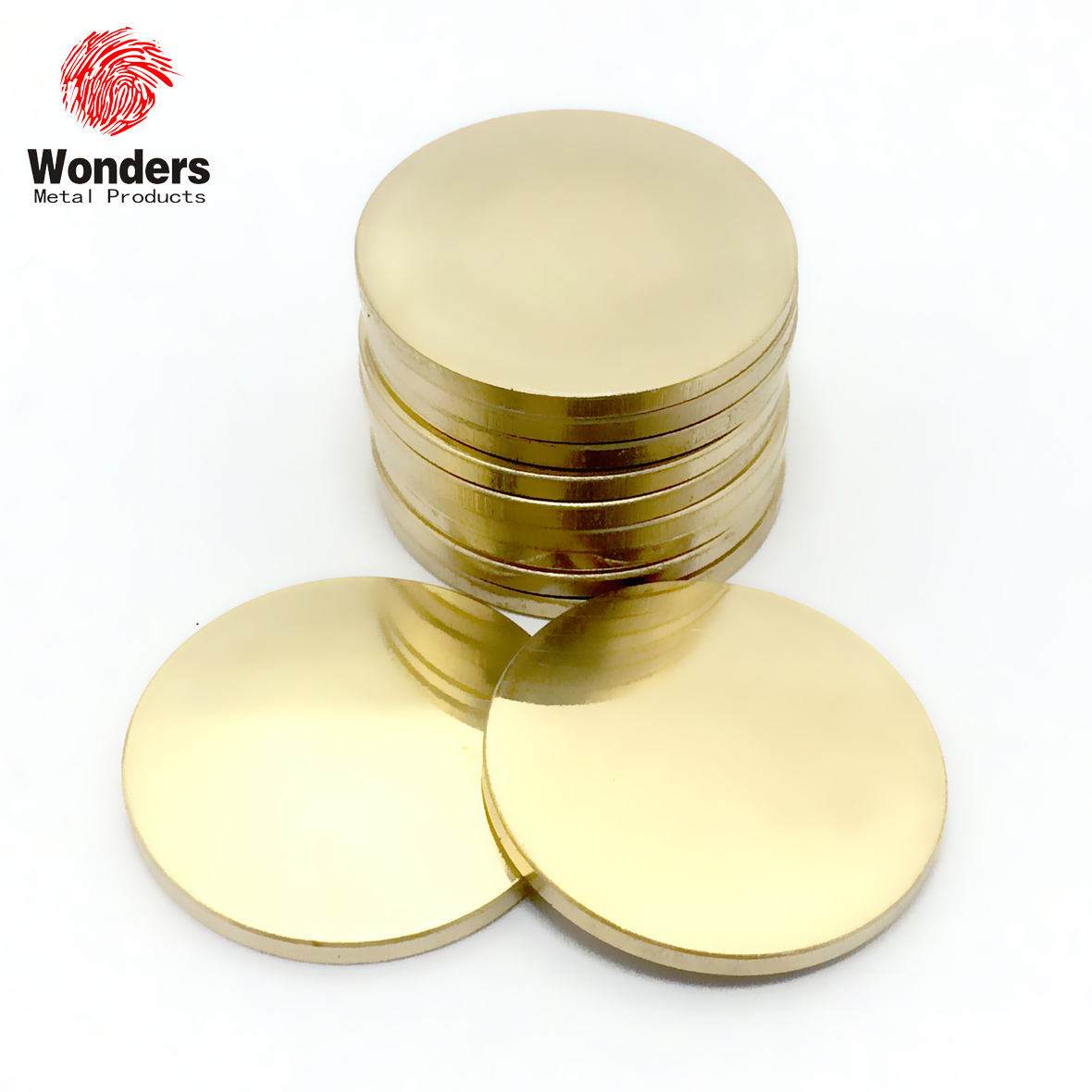 Challenge coin blanks brass blank metal coin wholesale hot sale