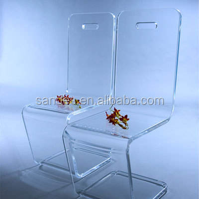 Sweet Transparent Acrylic Coffee Chair