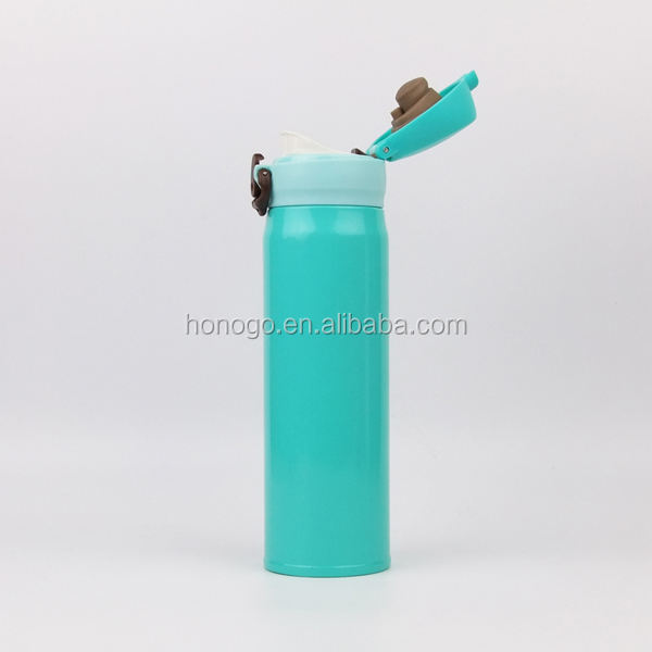 16oz Customized stainless steel vacuum insulated water flask eagle thermos flask for wholesale