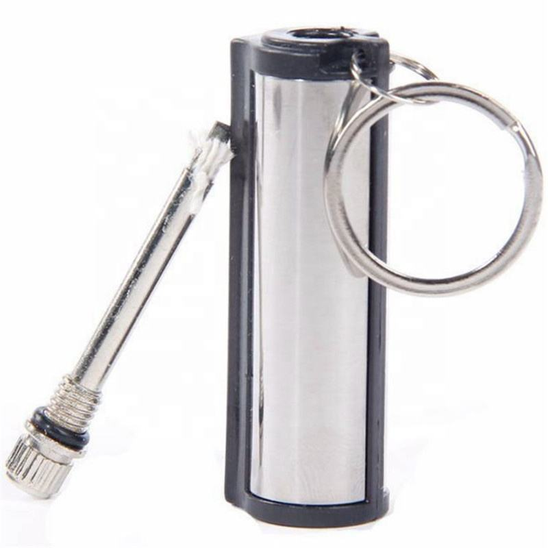 Instant Emergency Flint Fire Starter Match Lighter Metal Outdoor Hiking Camping Safety Survival Tools