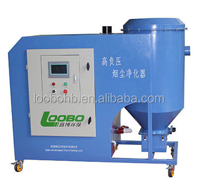 LB-GD High vacuum centralized dust collector/industrial welding dust extraction