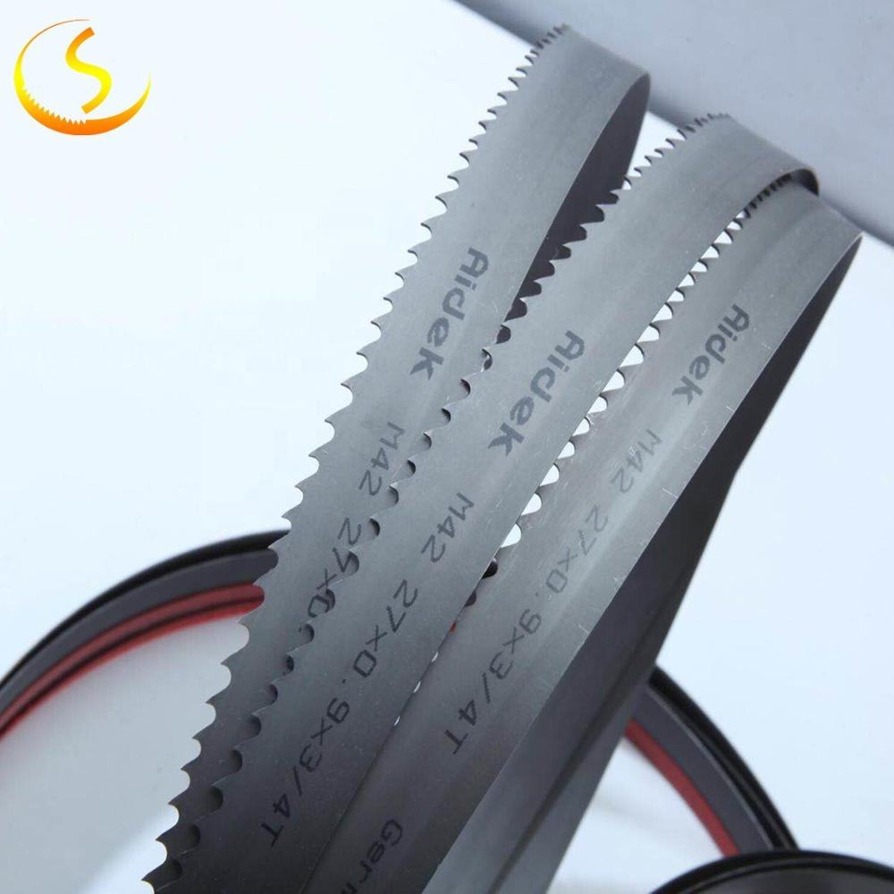 M42 or M51 bimetal bandsaw blade for plastic tube and fiber insulation