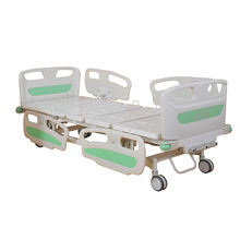 A-53 New Style Double-function Manual Hospital Metal Bed