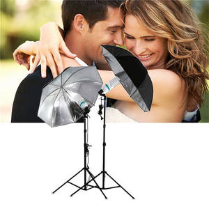 Cámara fotografía foto estudio Flash paraguas Light Stand Kit