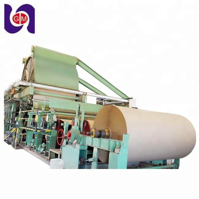50 tons per day kraft paper making machine corrugated small paper machines price