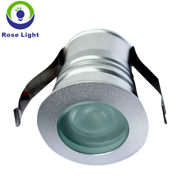 Dimmable 1 W/3 W LED encastré plafonnier 12 V IP65 downlights
