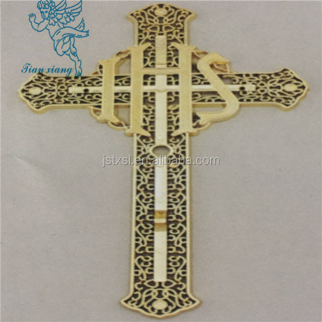 The New Cheapest new casket accessories Jesus cross 5#