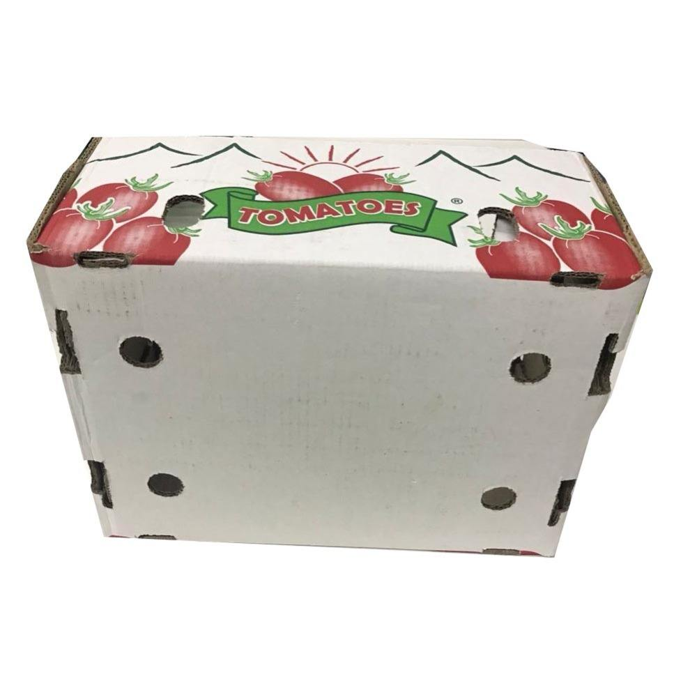 Tomato Paper Packaging Box With Lid And Bottom