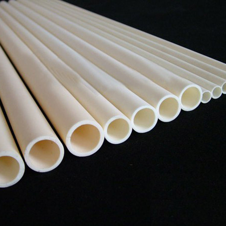 professional factory New Listing High Purity Insulation Glazed Alumina Ceramic Tubes with SGS certificate