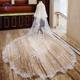 GENYA Wholesale bridal veils long lace wedding veils