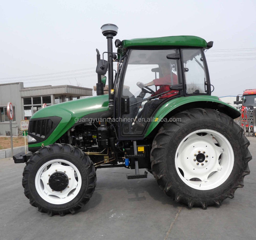 90HP 4WD YTO Engine Farm 4 wd Tractor Map904