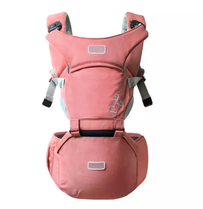 New Style Designer Sling 360 Ergonomic Baby Carrier 2 in 1 With Hip Seat