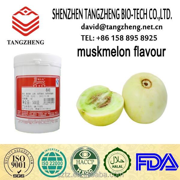 HALAL Melon Saveur pour quotidienne additifs alimentaires