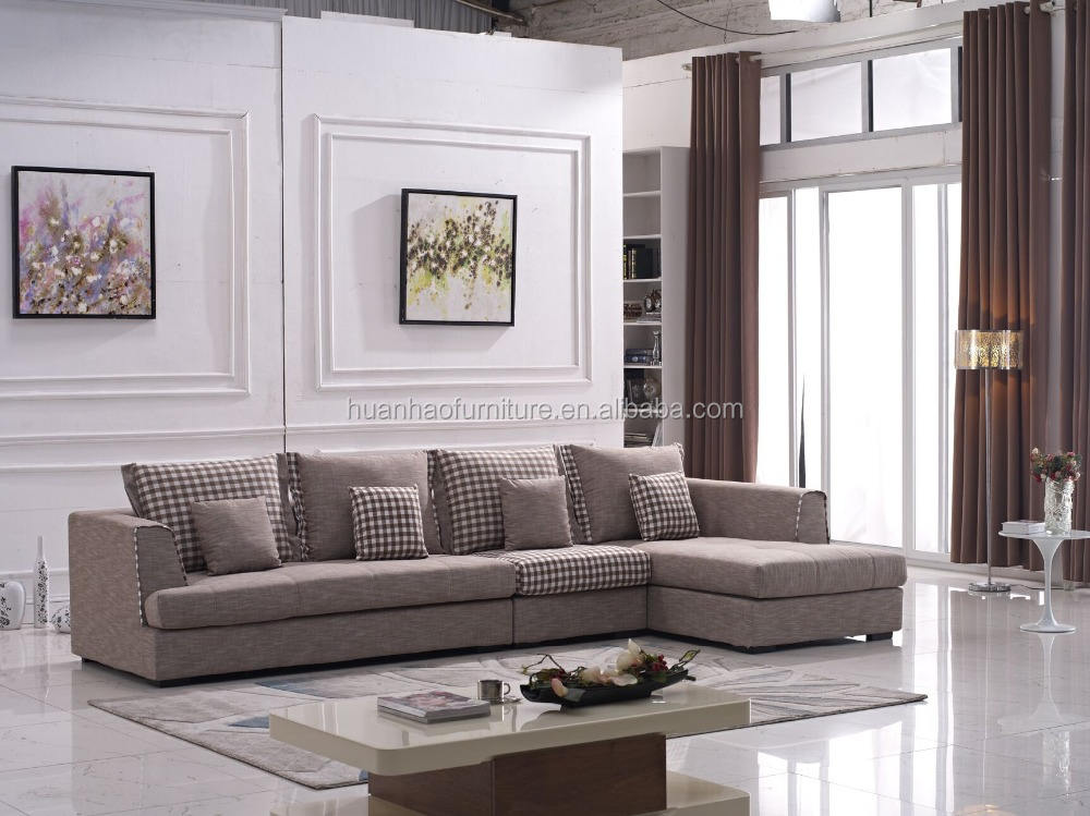 Modern simple sofa set furniture living room S040