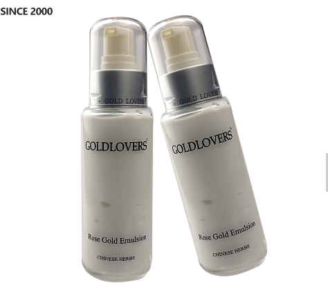 private label available manufacturer 24K active-gold skin lotion for woman