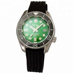 316L Acero inoxidable buceo 30atm impermeable buzo NH35 automático luminoso estéril MarineMaster reloj