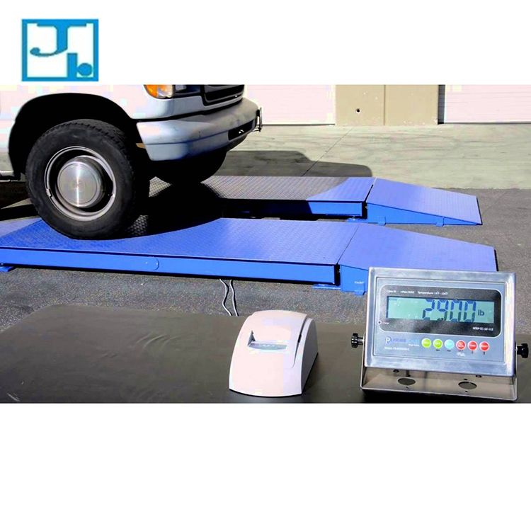Weight Machine for Truck , Most Accurate Portable 80 Ton Electronic Weighbridge Truck Axle Weight Scale