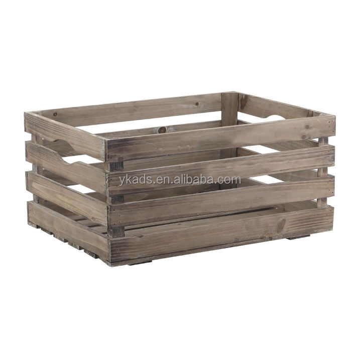 Durable wooden wine crates wholesale