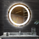 2020 hot simple led mirror light MOON 24 inch smart electric mirror round backlit mirror