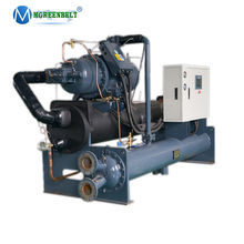 480 KW 160hp Anti - corrosion Titanium Heat Exchanger Water Cooled Screw Sea Water Chiller