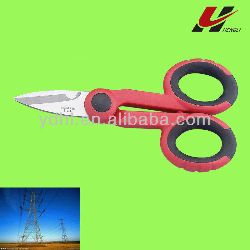 very good quality professional wire scissor for electrician L5160