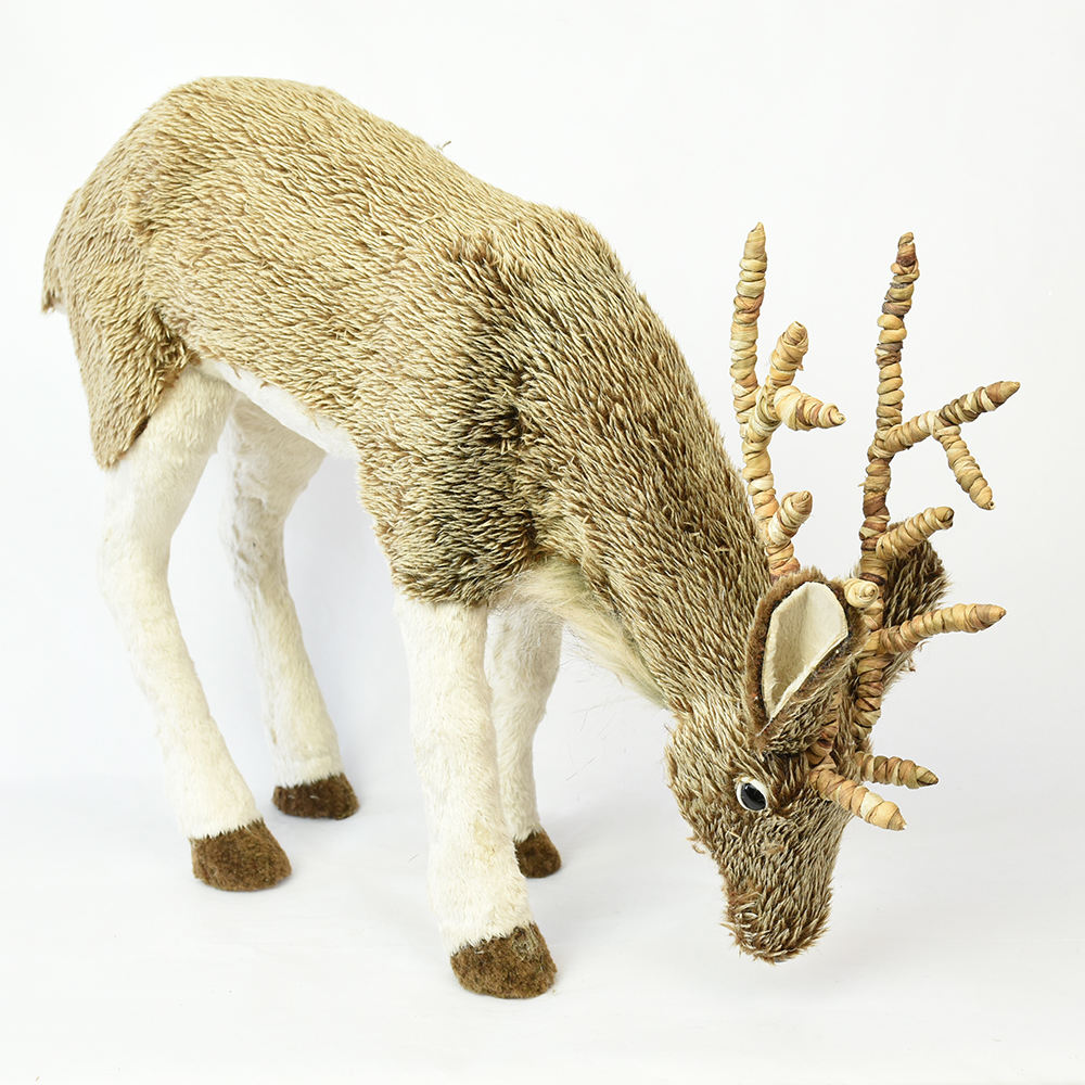 home and christmas and mall decoration FSC BSCI artificial animal Christmas reindeer