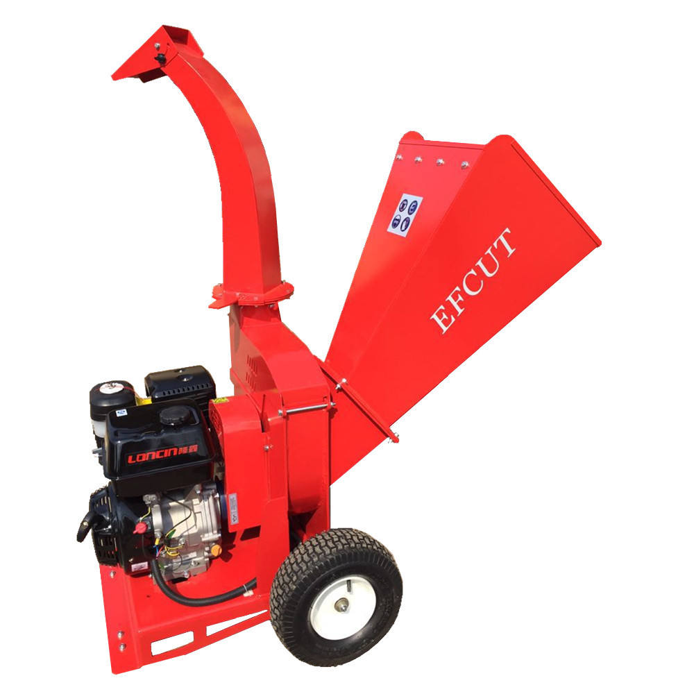 EFCUT B020 | 13HP 4Inch Chipping Capacity Wood Chipper Shredder With Factory Price