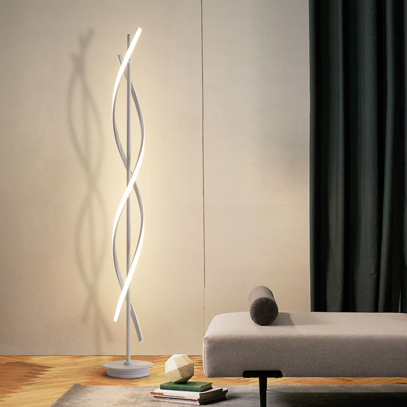 Hot sales modern minimalist floor lamp led Aluminum standing floor lighting of indoor