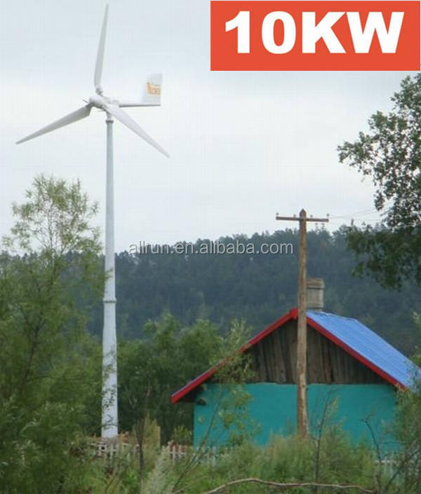 HORIZON AXIS 10kw windturbine generator with low rpm permanent magnet generator