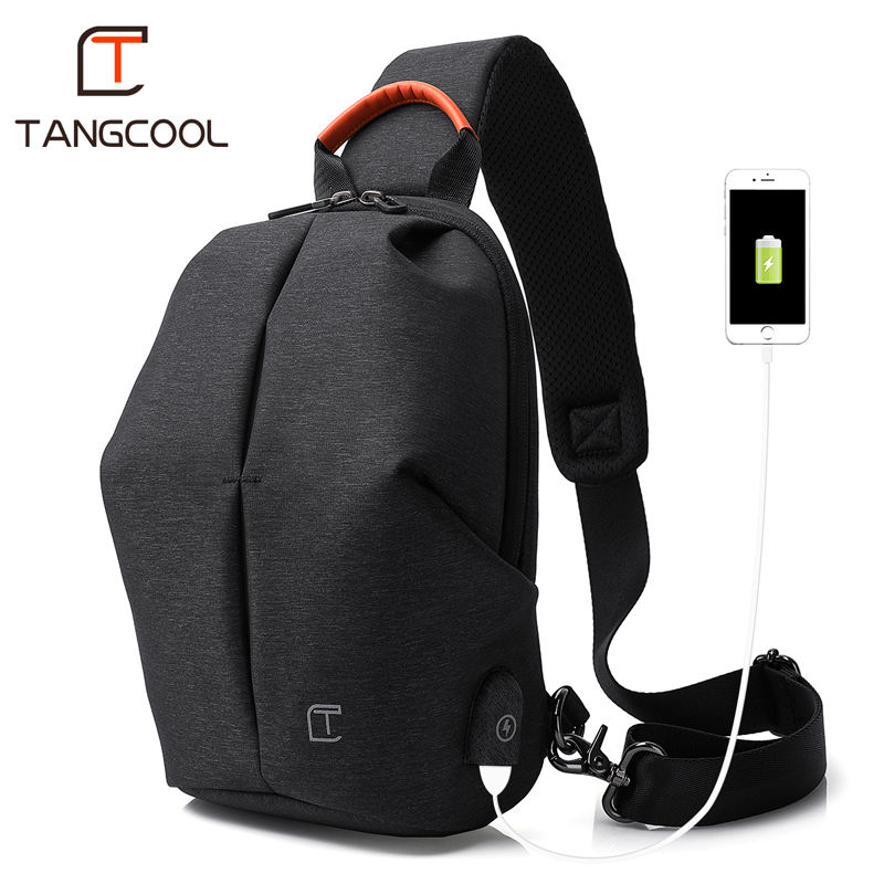 2019 new style tangcool wholesale sling bag sports travel crossbody man messenger waterproof shoulder bag for men