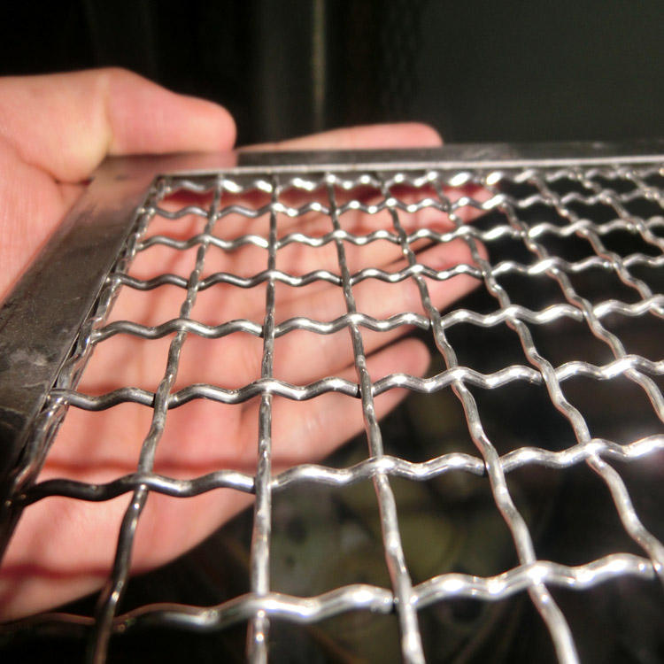 stainless steel bbq mesh grill grid / oven cooking mesh