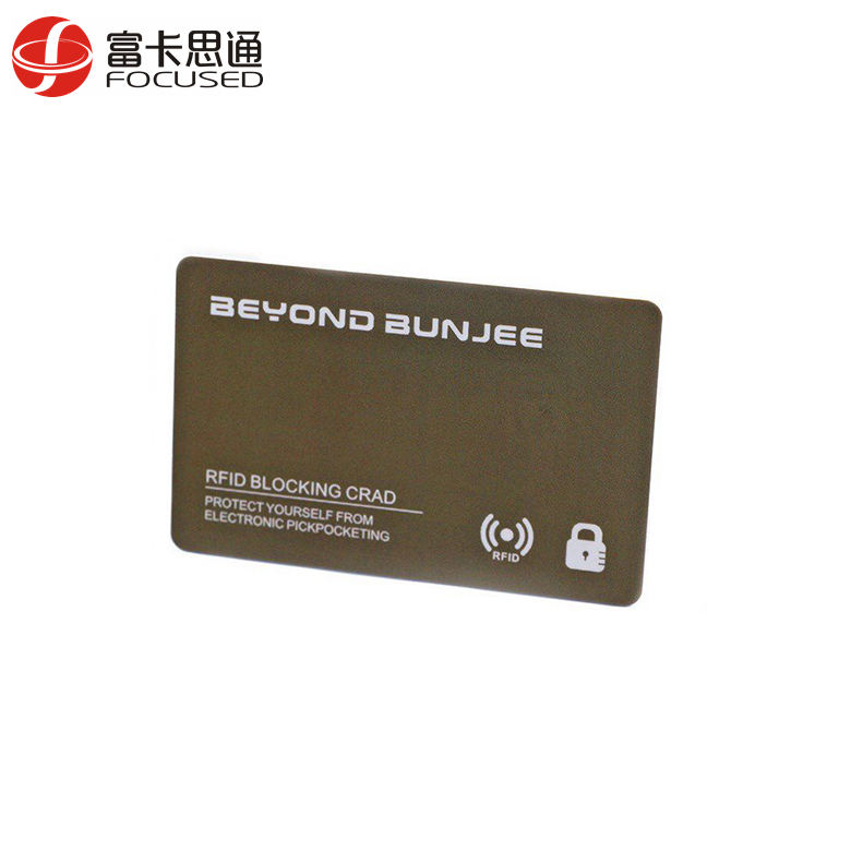 2017 Hot Selling Shield ID Protector Debit E Protector Credit Card RFID Blocking