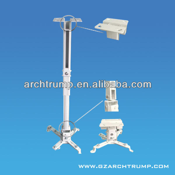 Universal Retractable Projector Arm Mounts/4365a Projector Ceiling Mount/Led Projector Mount
