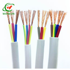 UL 3 Core 14 AWG Waterproof Copper Electrical Wire and Cable