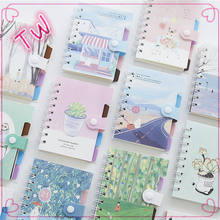 High quality korean lovely kids back to school stationery notebook mini promotion a5 paper note book