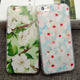 Japan South Korea Style Flower Printing Phone Cover For iPhone 8 Case Plastic Silicone 3D Emboss OEM ODM Mobile Accessories