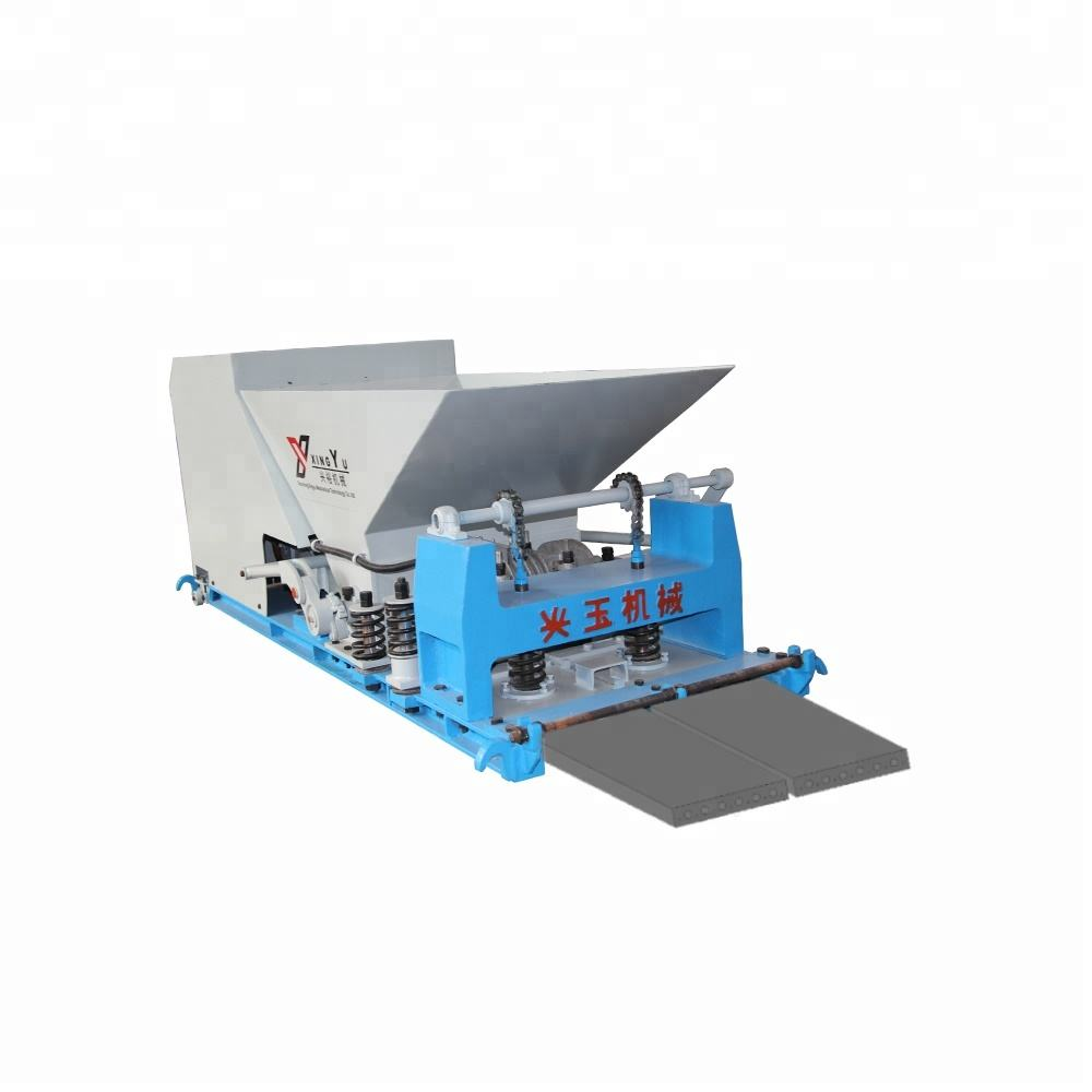 Automatic cement board fence making machine