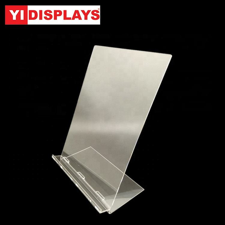 a4 acrylic t-shirt clothes display stand holder plexiglass display rack