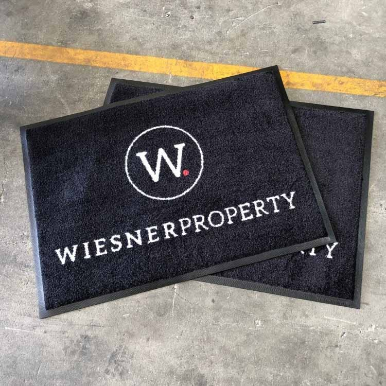 High quality 100% nylon printed entrance mat custom door mat