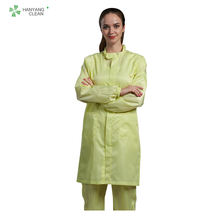 Autoclavable cleanroom antistatic surgical sterile labcoat gown esd stripe smock uniform working clothes