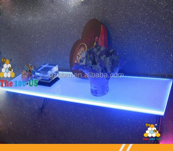 Acrylique RGB LED <span class=keywords><strong>affichage</strong></span> de <span class=keywords><strong>plateau</strong></span>