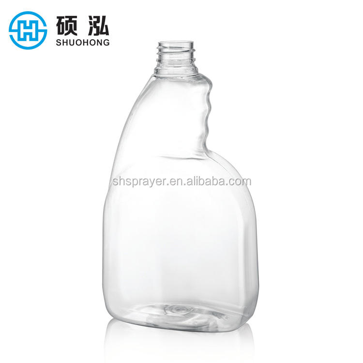 750ml Refillable liquid soap pet plastic bottle for household cleaning product
