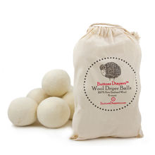 Oganic 100% New Zealand Wool Dryer Balls