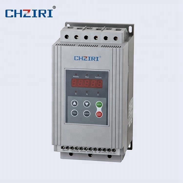 37 kW electric motor starters 3 phase motor reduce start current soft starter with