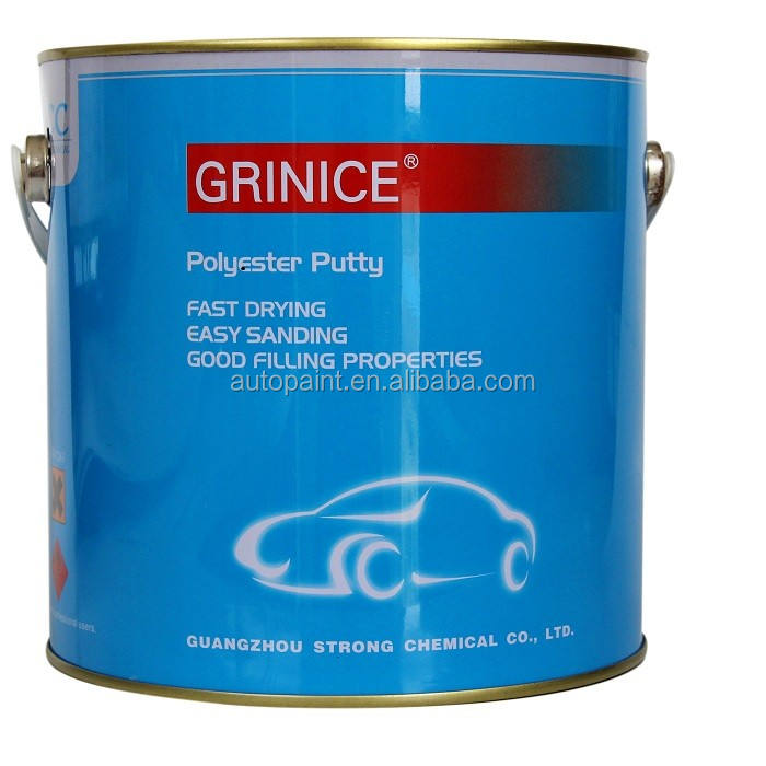 Strong filling power NC putty